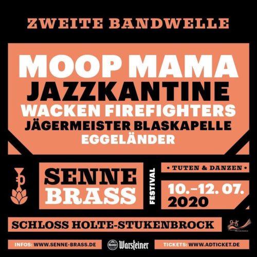 Senne-Brass · Tuten & Danzen · 10.–12.07.2020 @ Safariland