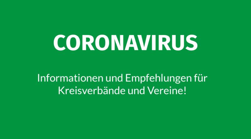 Coronavirus Informationen und Empfehlungen für Kr4eisvrbände und Vereine Volksmusikerbund NRW